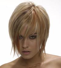 Pokud si vlasy ostříháte, do popředí se dostává obličej ...